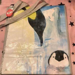 Handbags - NWT darling Penguin tote bag